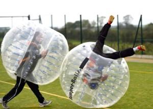 バブルフットボール、サッカー、バルーン