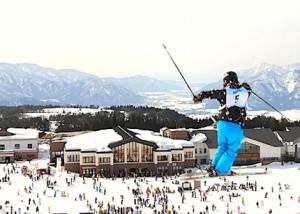 スキー、スノーボード大会運営、音響PA